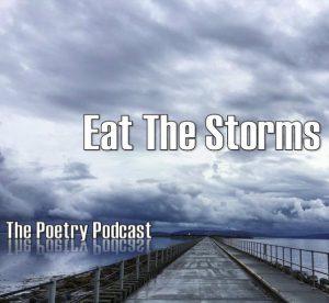 stormy sky, peer, boardwalk, water
